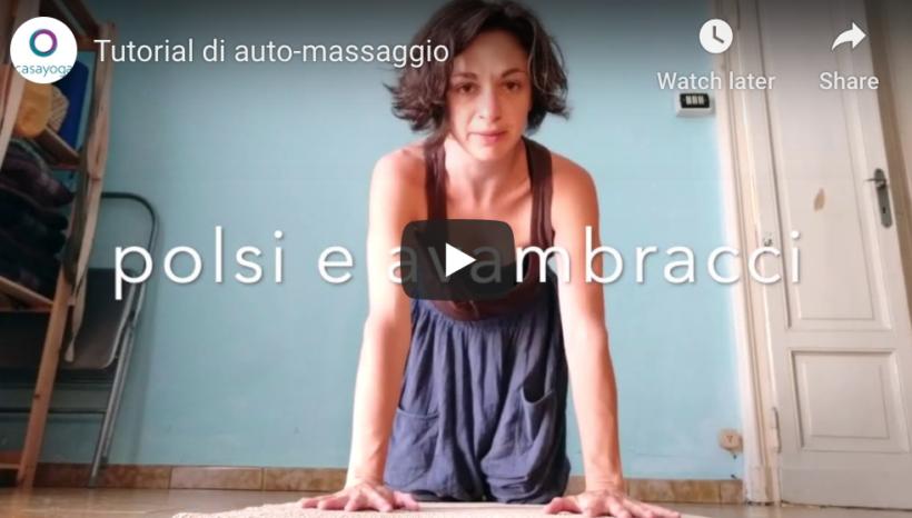 Tutorial di auto-massaggio
